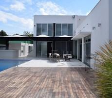 İzmir Çeşme Mamurbaba Lüks Müstakil Havuzlu Satılık Modern Villa