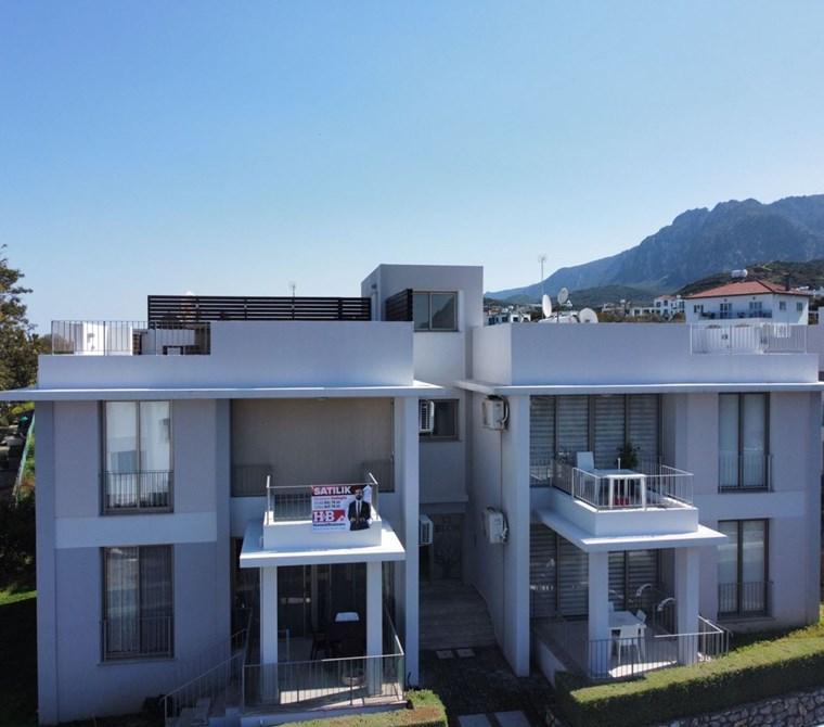 Satılık 2+1 Daire Kuzey Kıbrıs - Girne, Alsancak, Milos Park