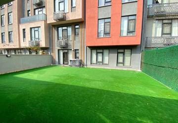 Rahat Yaşam Alanı Haliç Panorama'da Satılık Bahçeli 2+1 Daire