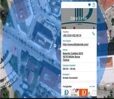 Nilüfer Ticarette Satılık 3.300 arsa içinde 2.500 m2 Kapalı