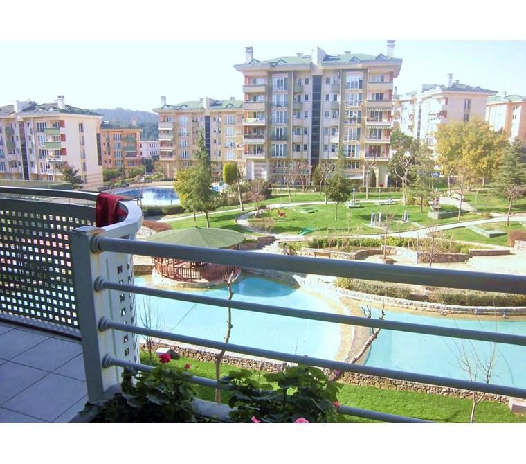 SİNPAŞ AQUA CITY 2 de PEYZAJ VE HAVUZ CEPHE BAKIMLI 3+1 aquacity
