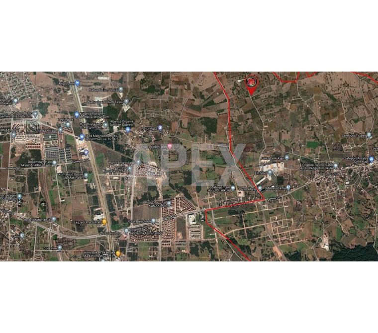 Antalya Odabaşı Satılık Tarla - Yatırımlık - Rw Apex