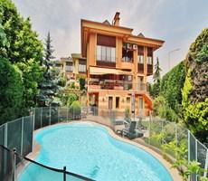 Sinpaş Aqua City 1 Havuzlu Büyük Bahçeli Garden Villa ÇEKMEKÖY