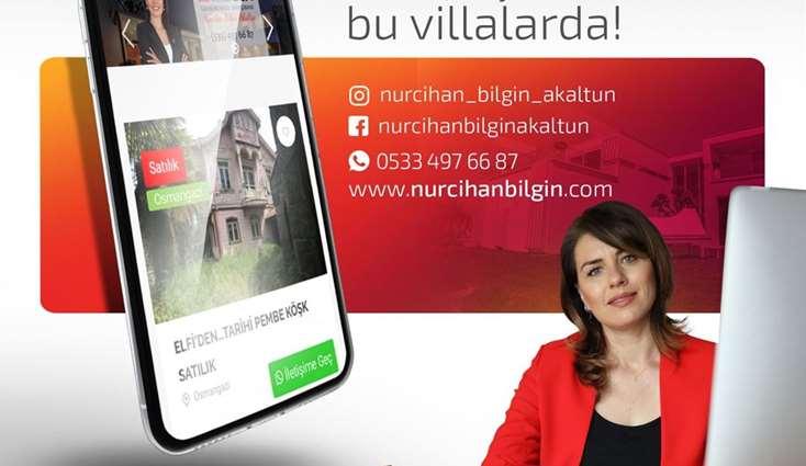 ELFİ den BEŞEVLER / KÜLTÜR de SATILIK 7+3 MÜSTAKİL VİLLA