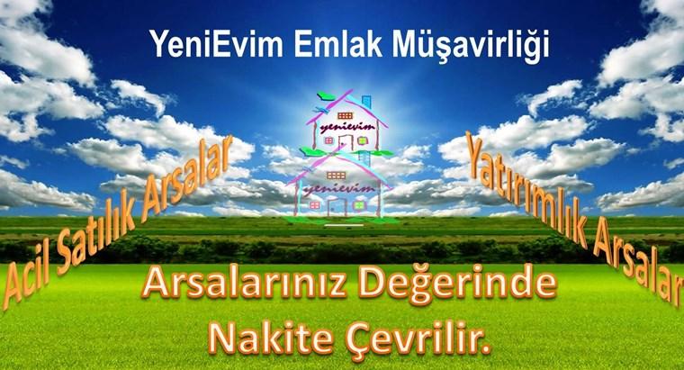 YeniEvim'den Mezitli'de 55 m Cad. Cepheli Yatırıma Uygun Arsa.