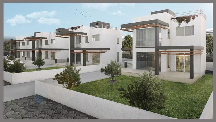 Girne Edremit'te 3+1 Satılık Villa