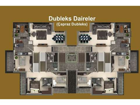 Diamond Hills / Şehrin En Işıltılı Projesi  Kat Planı