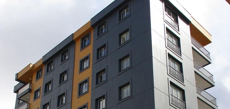 Cadde Üstü Binada 103 m2 2+1 Açık yada kapalı mutfaklı Daire