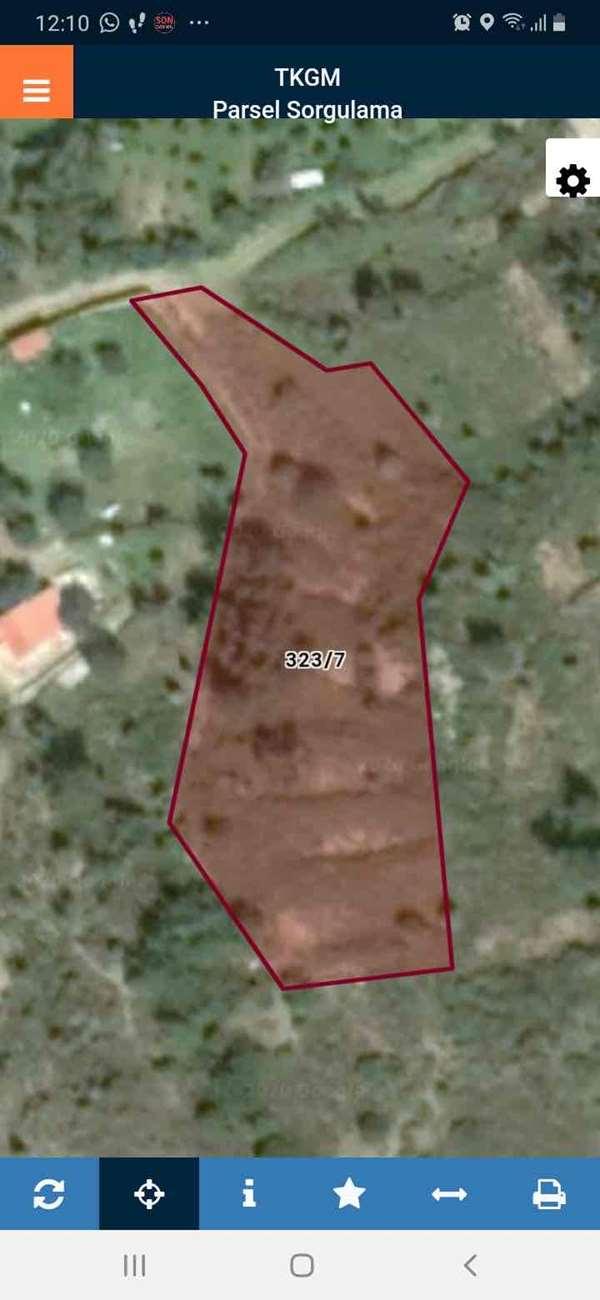 İzmir'in Mordoğan'da satılık 3580 m2 Tarla,