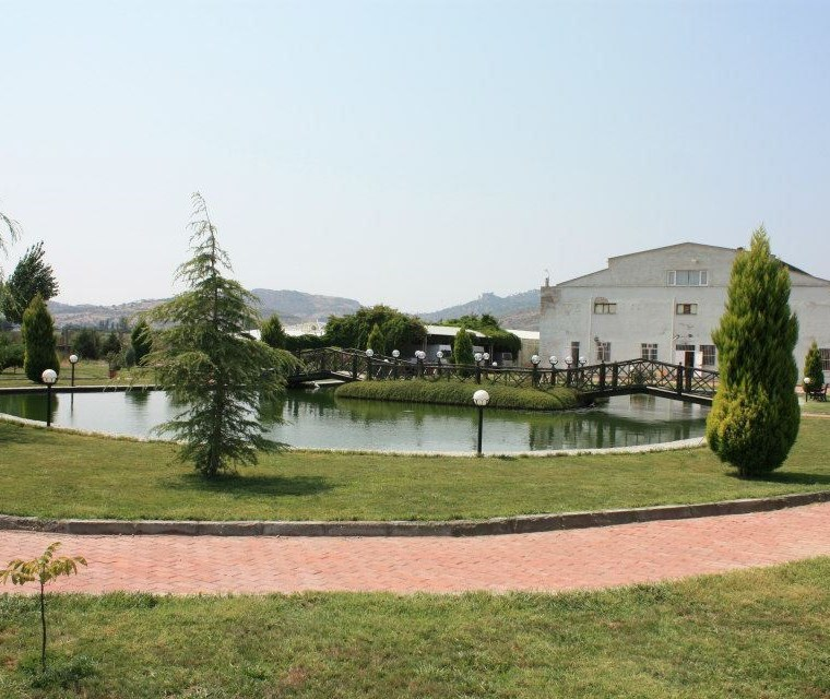 Bergama'da Jeotermal Suyu Olan Satılık Tesis.