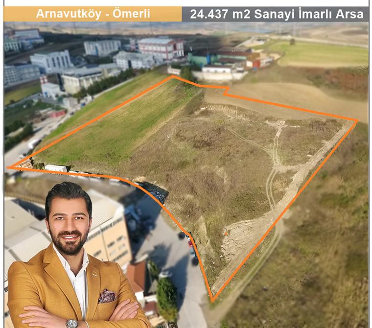 HADIMÖY SANAYİ'DE 24.437 m2 ARSA SATILDI ! ! !