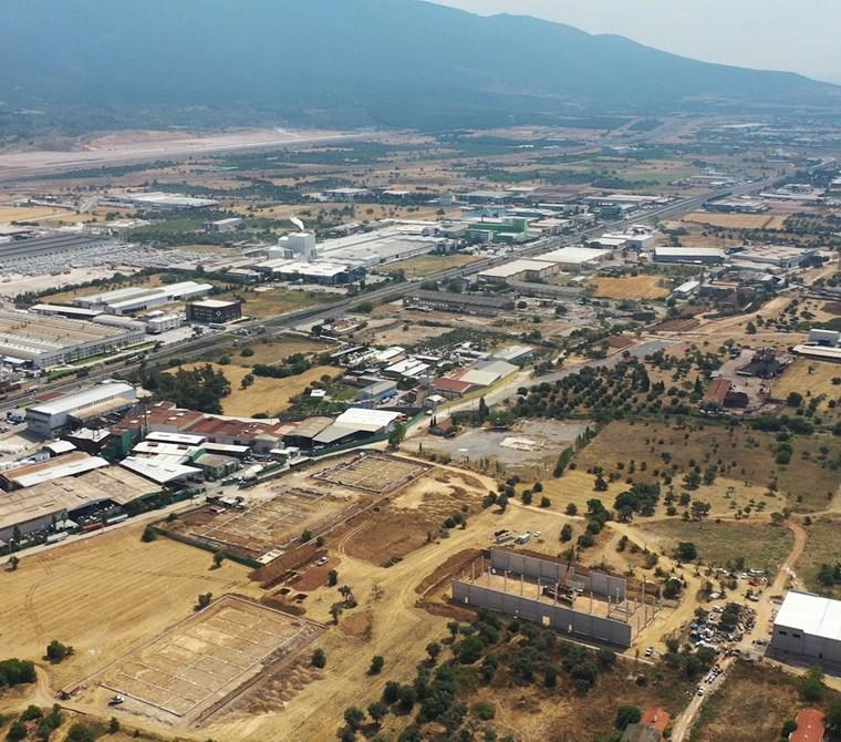 Kemalpaşa Ansızca'da 2.Etapta Satılık 2.300m2 Sanayi İmarlı Arsa
