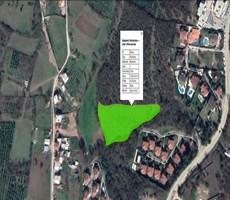 Bademlide Villalara sınır Planda 30 metre yola cepheli 7.200 m2