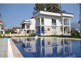 Fethiye Foça mh. Apartment for sale in site pool garden furnished 2+1 90m