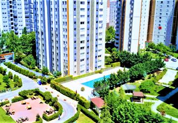 Beykent Palmiye Evleri 3+1 185 m2 Lüks Arakat Satılık Daire