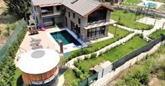 Fethiye Yanıklar satılık müstakil lüks villa 1400m² bahçe