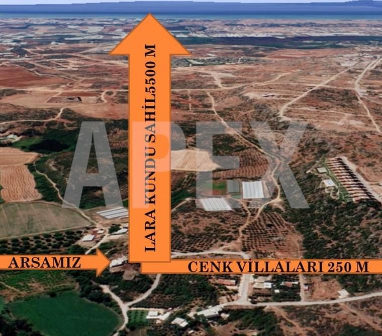 AKSU MANDIRLAR DA İMARLI 1141 M² SATILIK ARSA