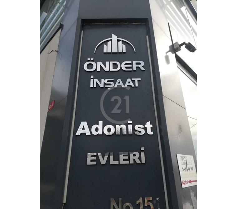 C21 Ali Haydar Yücel- ADONİST 2 EVLERİNDE SATILIK 3+1