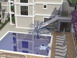 Fethiye Karaçulha Mh. satılık daire 1+1 58m² havuz, fitness