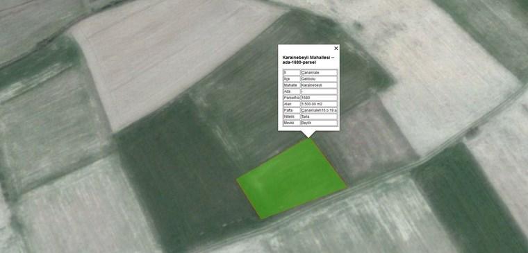 Çanakkale Gelibolu'da Acil Satılık 15.500 m2 Yatırımlık Arazi.