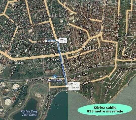 KÖRFEZ GÜNEY MAHALLESİ 'NDE 3+1 145m² SATILIK ÇATI DUBLEKS DAİRE - 2