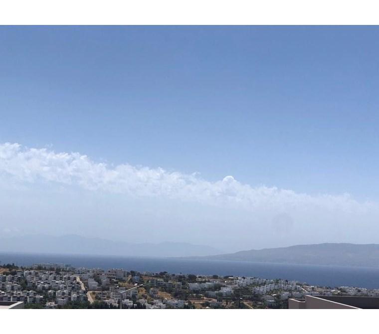 Akyarlar mevkiinde deniz manzaralı müstakil tek katlı villa