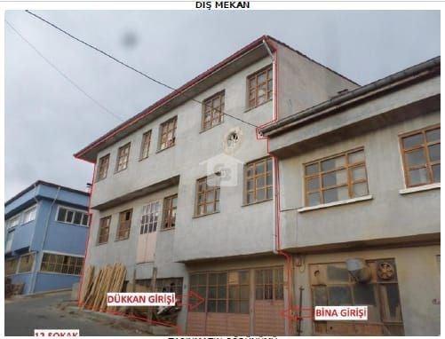 Bankadan Satılık Kastamonu Tosya da 685m2 Üç Katlı Komple Bina