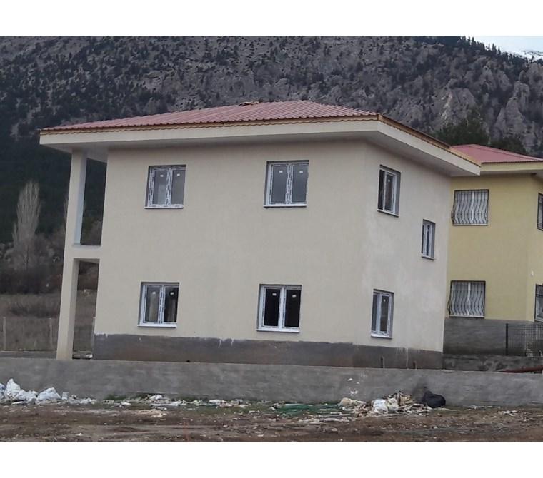YeniEvim'den Pozantı Alpu Satılık Sıfır Müstakil Dubleks Villa.