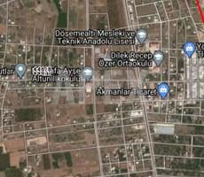 ANTALYA DÖŞEMEALTI YENİKÖY'DE SATILIK, 1.098 M2 İMARLI ARSA