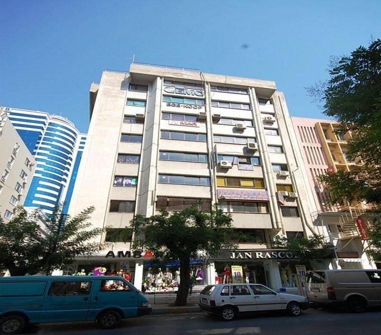 İzmir Konak Akdeniz Mah. Çankaya Merkez'de Satılık Büro - Ofis