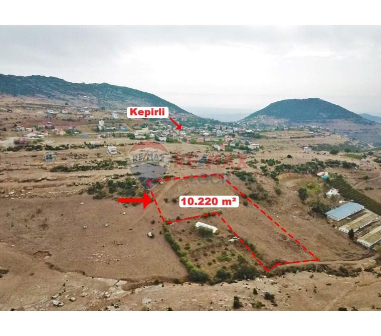 REMAX LOCA KEPİRLİ MAH'DE İMARLI PLAN İÇİNDE 10.220 m2 TARLA