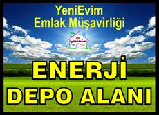 Mersin Kazanlı'da Enerji Akaryakıt, LPG, Kömür Depo Tesis Alanı
