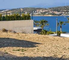 Çeşme'de Ful Deniz Manzaralı,Önü Kapanmaz Acil Satılık İmarlı Arsa