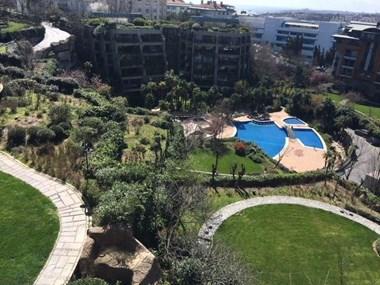 Ulus Platin Sitesi'nde İyi Konumlu Satılık Bahçe Dubleksi