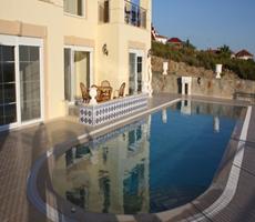 Alanya İncekum Deniz Manzaralı Satılık Özel Fourlex Villa
