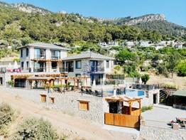 Fethiye Faralya satılık butik otel 1000m² arsa 600² kapalı alan