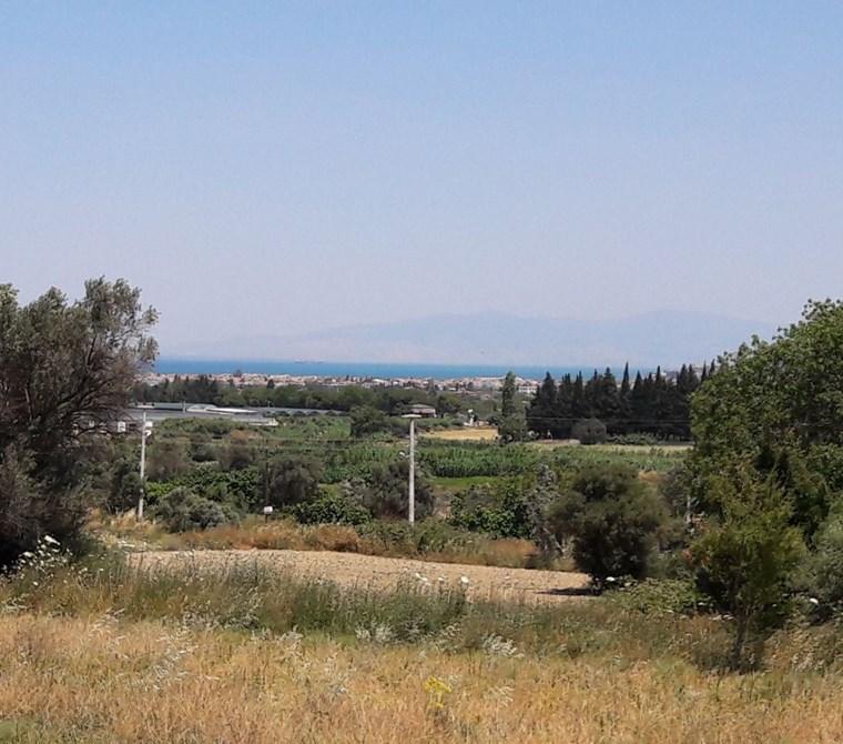 İzmir Urla'da Deniz Manzaralı 0.07 imarlı Arsa