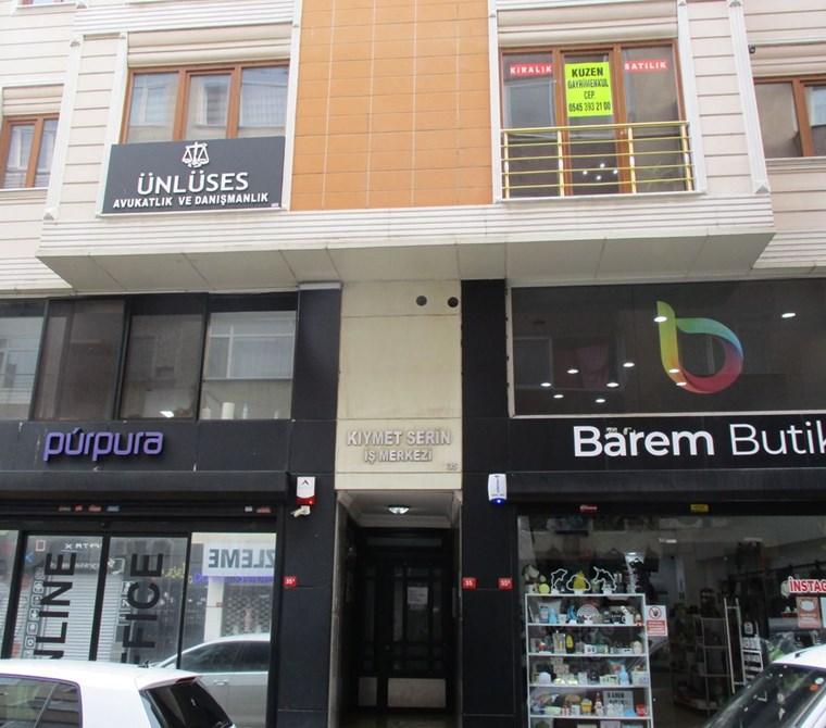 Pendik Çarşıiçi Yeni Binada Kombili Klimalı 1+1 ofis