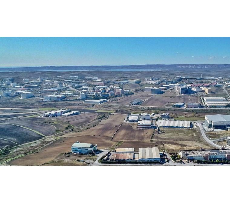 ÖMERLİ SANAYİ'de 2.535 m2 SANAYİ İMARLI SATILIK ARSA