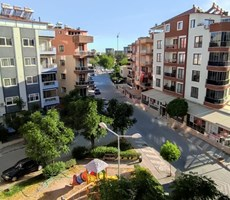 Atatürk mah.de cadde üstü yeni binada eşyalı satılık daire
