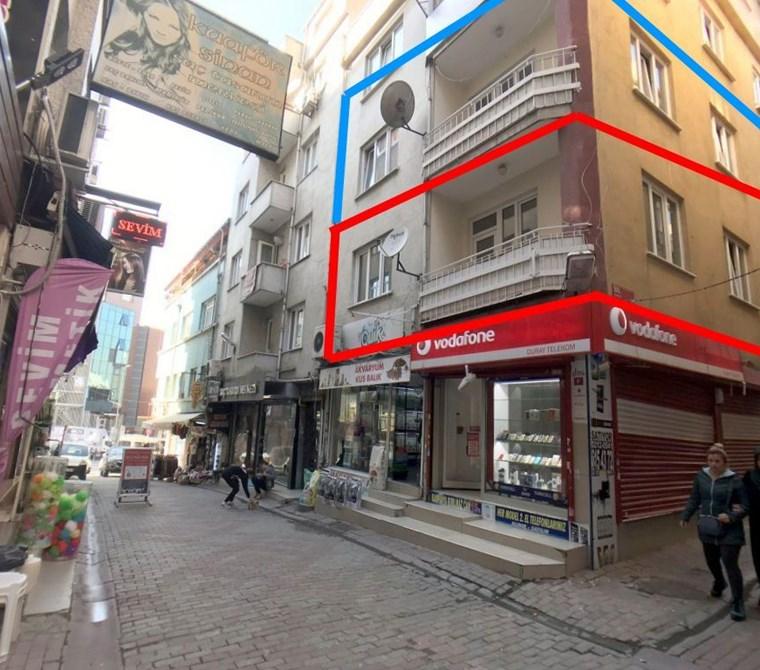 Gaziosmanpaşa Meydan'da Cadde Üzerinde Satılık 2+1 75m2 Daire