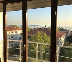 Kadıköy Caddebostan Cemil Topuzlu da 280 m2 Net Satılık Deniz manz. Lüks 5+1