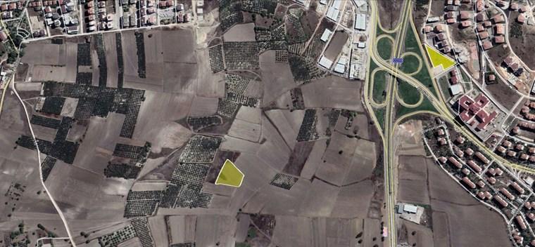 Nilüfer Görükle Dumlupınarda İmar Sınırı 6 Dönüm Satılık Arazi.