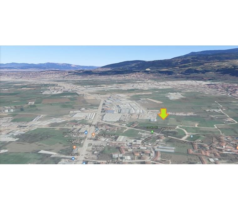 Nilüfer Yaylacıkta İmar Sınırı Acil Satılık 990 m2 Tarla.