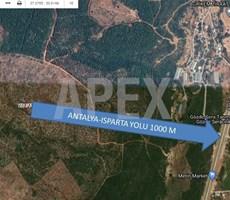 AKSU TOPALLI'DA FİYAT AVANTAJLI YATIRIMLIK 417 M² ARSA