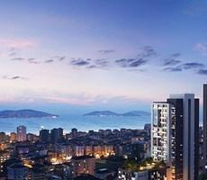 Kartal'da Prestijli Bölgede Marka Projede Satılık 2+1 Rezidans