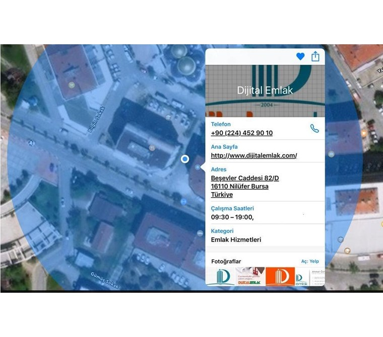 Nilüfer'de 30 bin TL Kira Getirili 2.000 m2 Kapalı Alanlı Ticari