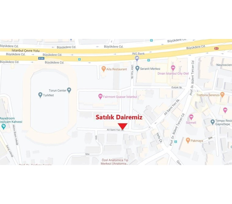 Quasar Torun Center Sokağı Ara Kat 135 m² Otoparklı MUKADDER