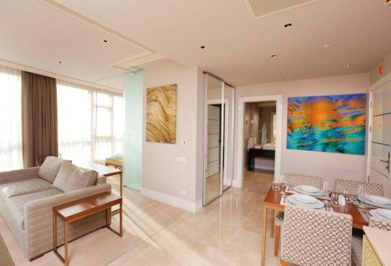 Bomonti Divan Residence'da Haliç& Deniz Manzaralı Satılık Daire