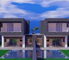 İzmir Çeşme Alaçatı Çamlıkyol Lüks Modern Havuzlu Satılık Villa